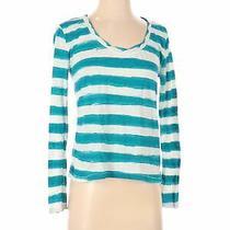 Aeropostale Women Green Long Sleeve T-Shirt S Photo