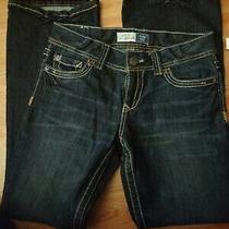Aeropostale Women's Hailey Skinny Flare Jeans Size 9/10 Inseam 30.5 Photo