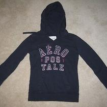 Aeropostale Women's Hoodie  Navy Blue  Juniors Size Xs  Euc Photo
