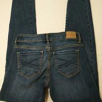 Aeropostale Women's Jeans Size 00 Short Lola Jegging Blue 24x28.5 Low Rise  Photo