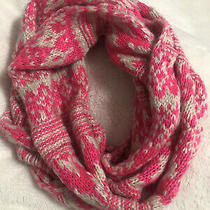 Aeropostale Women's Scarf Long Pink Color Knitted One Size Photo