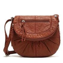 Aeropostale Women Shoulder Bag Handbag Purse Messenger Bag Stonewash Nwt  Photo
