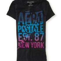 Aeropostale Womens Aero 87 New York Lightning Graphic T Shirt Photo