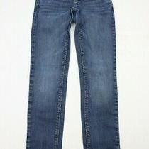 Aeropostale Womens Ashley Jeans Size 1/2 Ultra Skinny Blue Denim 28.5 Inseam Photo