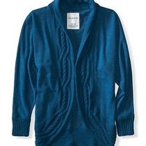 Aeropostale Womens Cable-Knit Cocoon Cardigan Photo