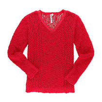 Aeropostale Womens Cable Knit Sweater 639 S Photo