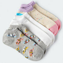 Aeropostale Womens Colorful Rvs Ankle Sock 3-Pack Photo
