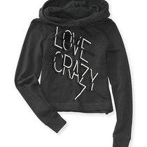 Aeropostale Womens Crazy Graphic Popover Hoodie Photo