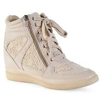 Aeropostale Womens Crochet Sneaker Wedge Photo