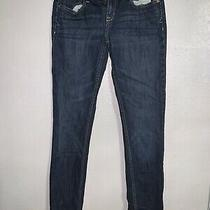 Aeropostale Womens Denim Jeans - Bayla Skinny Jeans Medium Wash - Size 5/6 5 6 Photo