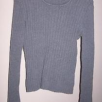 Aeropostale Womens Gray Cable Knit Knitted Sweater - Size Medium Photo