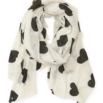 Aeropostale Womens Heart Knit Scarf Photo