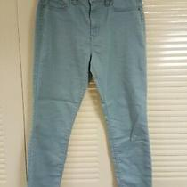 Aeropostale Womens High Waisted Jegging Blue Teal Jeans Size 10 Euc Must See Photo
