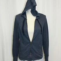 Aeropostale Womens Jacket Size M Blue Zipup Hoodie Photo