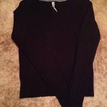Aeropostale Womens Juniors Black Acrylic Sweater Size Medium M  Photo
