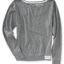 Aeropostale Womens Long Sleeve Solid Sweatshirt Photo