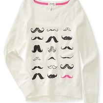 Aeropostale Womens Many Mustaches Sweatshirt Photo