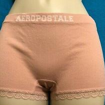 Aeropostale Womens Ribbed Signature Logo Boyshort Boxer Underwear Panties Aero L Photo