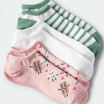 Aeropostale Womens s'mores Ankle Sock 3-Pack Photo