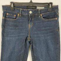 Aeropostale Womens Skinny Jegging Button Zip Fly Denim Stretch Blue Size 6 Long Photo
