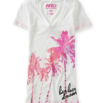 Aeropostale Womens Snakeskin Island Graphic T-Shirt Photo