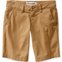 Aeropostale Womens Solid Bermuda Uniform Shorts Photo