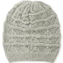 Aeropostale Womens Solid Crochet Knit Beanie Photo
