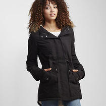 Aeropostale Womens Solid Long Parka Photo