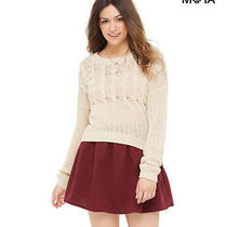 Aeropostale Womens Solid Ottoman Skirt Photo