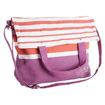 Aeropostale Womens Striped Book Messenger Bag 554 Photo