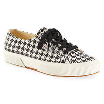 Aeropostale Womens Superga Houndstooth Low-Top Sneaker Photo