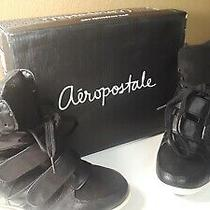 Aeropostale Womens Wedge Sneakers Shoes Size 8 Photo