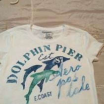 Aeropostale Xs T-Shirt With Glitter Dolphins. Photo