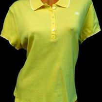 Aeropostale Yellow A87 Embroidered Short Sleeve Spandex Stretch Polo Top Xxl Photo