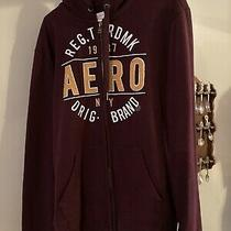Aeropostale Zip Up Hoodie Size Large Brand New Photo