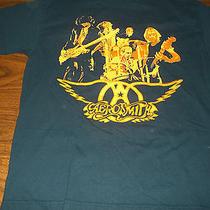 Aerosmith Tour 2002 Shirt Size Large Rare Steven Tyler Joe Perry Classic Rock  Photo
