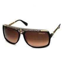 Affliction Gold Talon Sunglasses - Turtoise/ Rose Gold Photo