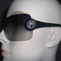 Affliction Womens Sunglasses Griffin Black/brown New in Case and Box Photo