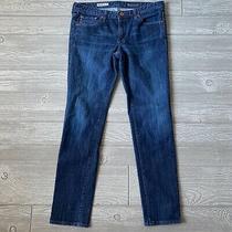 Ag Adriana Goldschmied the Stilt Cigarette Blue Jeans Womens Size 30 X 30 Photo