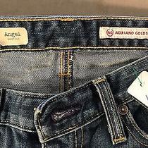 Ag Adriano Goldschmied Angel Boot Cut Size 29 R Waist 27 Inseam 30 Stretch Photo