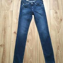 Ag Adriano Goldschmied Blue the Stilt Skinny Stretch Jeans W28