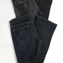 Ag Adriano Goldschmied Citizens of Humanity Womens Jeans Blue Gray 27 28 Lot 2 Photo