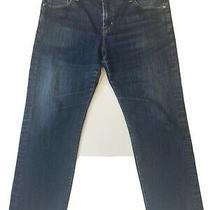 Ag Adriano Goldschmied Graduate Tailored Leg Dark Blue Jeans Men 40x32 Stretch Photo