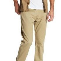 Ag Adriano Goldschmied Mens Pants Beige Size 38 Graduate Tailored Leg 178 175 Photo