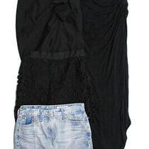 Ag Adriano Goldschmied Re Named Bb Dakota Zara Womens Skirt Blue Size 25 S Xs Lo Photo