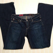 Ag Adriano Goldschmied the Club Bootcut 28r Ladies Jeans Guc Med Wash Photo