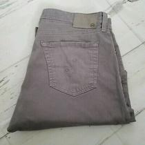 Ag Adriano Goldschmied the Everett 5 Pocket Pants Mens 36 X 31 Gray Photo