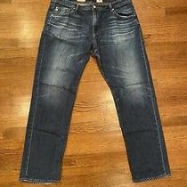 Ag Adriano Goldschmied the Graduate Men's 40x34 Tailored Leg Jeans Pre-Owned Photo