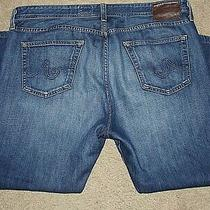 Ag Adriano Goldschmied the Graduate Tailored Leg Men's Jeans Size 40 X 29 Nice Photo