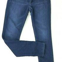 Ag Adriano Goldschmied Women's 27r the Stilt Cigarette Stretch Denim Blue Jeans Photo